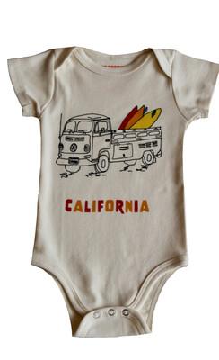 "VW Truck ""California"" Onesie"