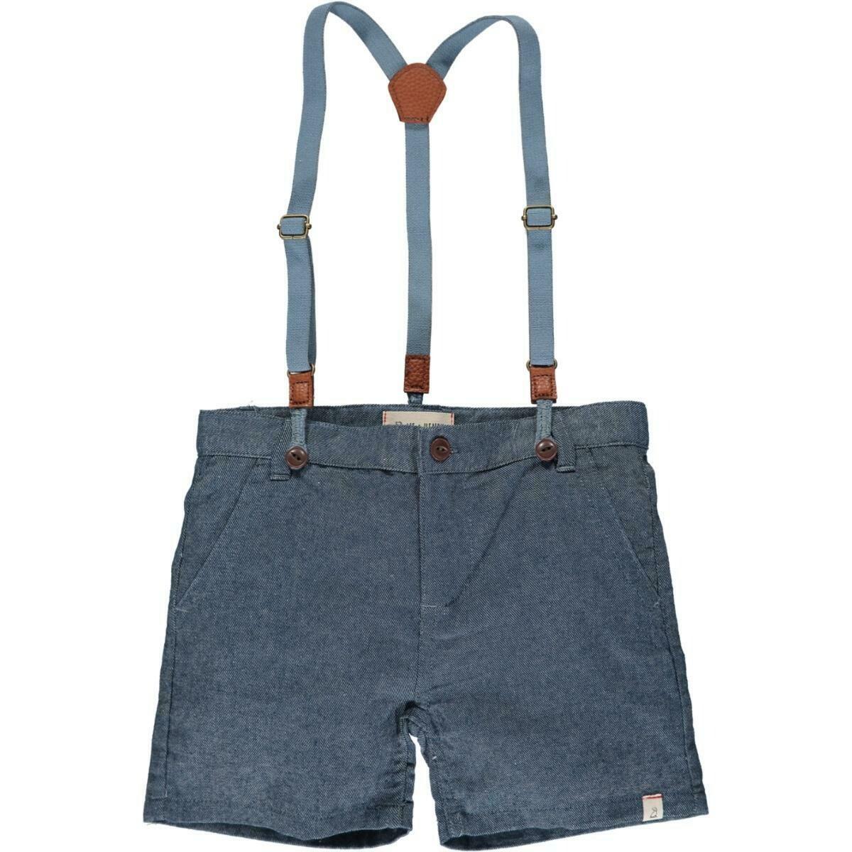 Me & Henry Suspender Shorts