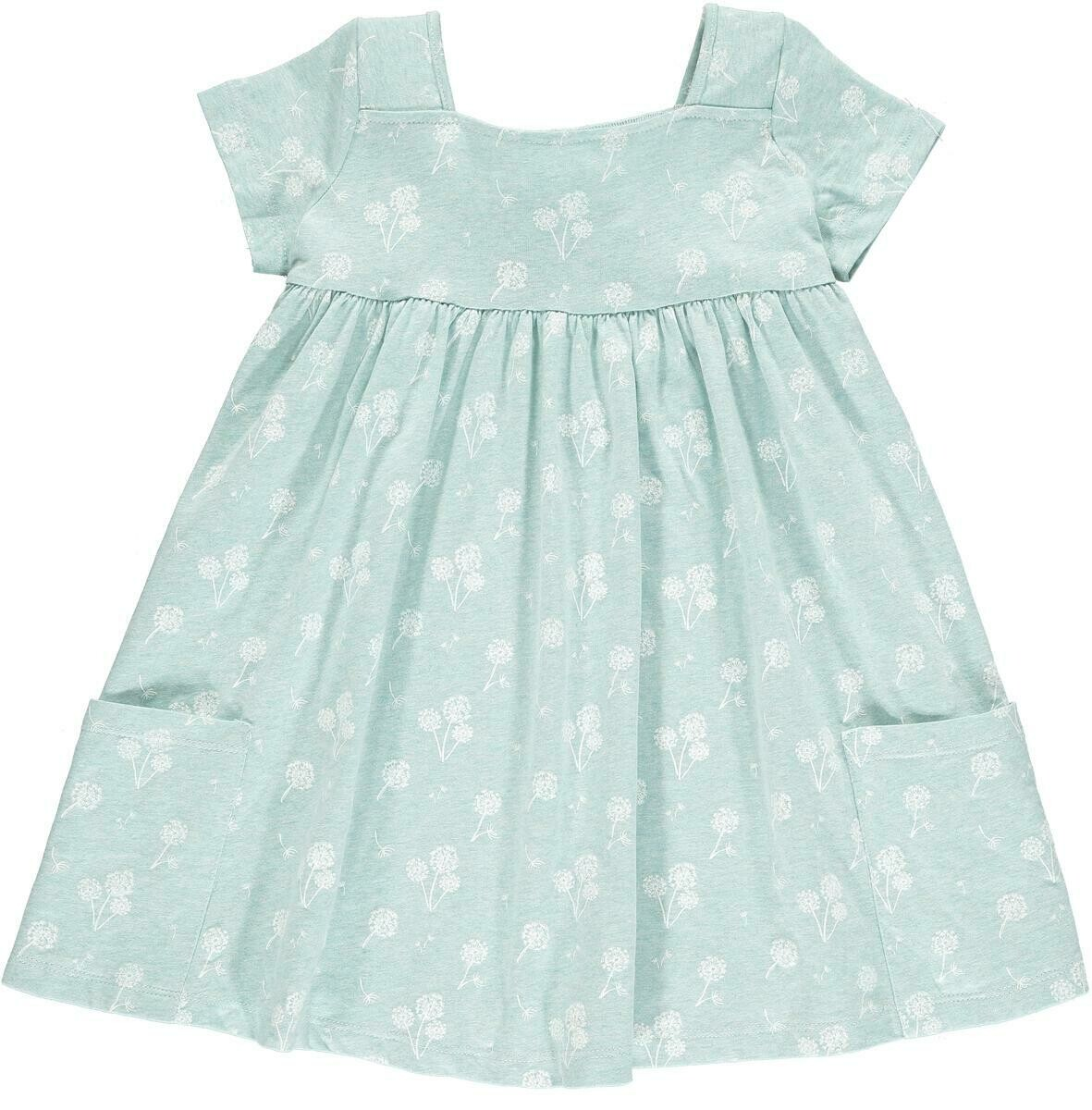 Vignette Rylie Dress - Aqua Dandelion