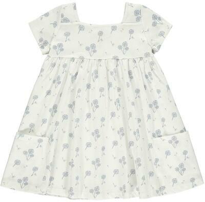 Vignette Rylie Dress - Cream Dandelion