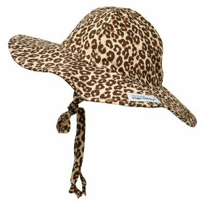 Flap Happy UPF 50+ Floppy Hat - Leopard