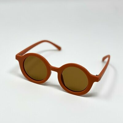 Miminoo Sustainable Kids Sunglasses - Brick
