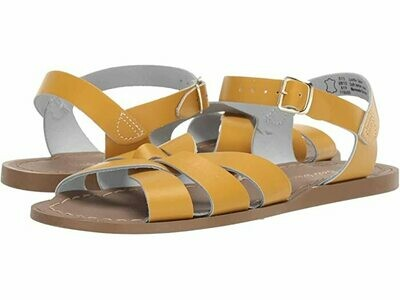 Salt Water Sandals Leather Water Safe Sandals - Mustard