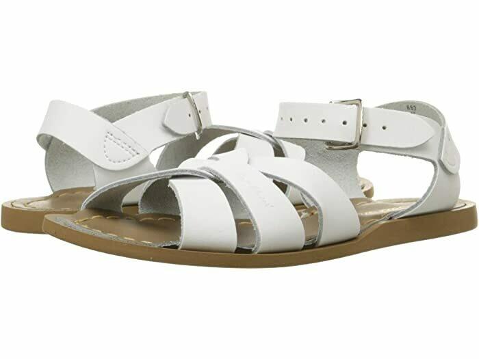 Salt Water Sandals Leather Water Safe Sandals - White