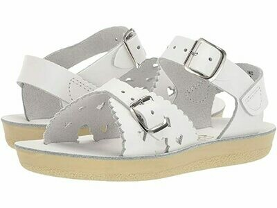 Salt Water Sandals Sweetheart - White