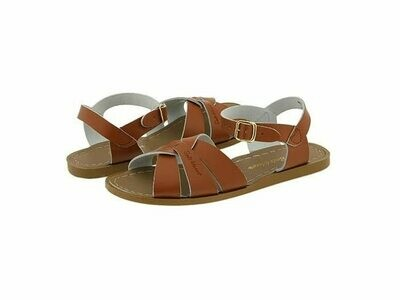 Salt Water Sandals Leather Water Safe Sandals - Tan