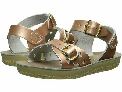 Salt Water Sandals Sweetheart - Rose Gold