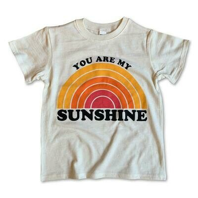 """Rivet Apparel Co. """"You Are My Sunshine"""" Tee - Natural"""