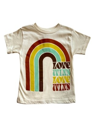 "Rivet Apparel Co. ""Love Wins Love Wins"" Tee"