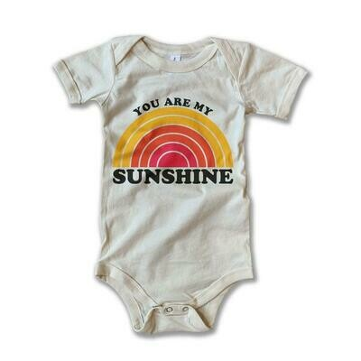"""Rivet Apparel Co. """"You Are My Sunshine"""" Onesie"""