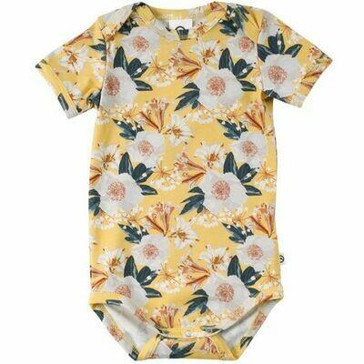Müsli Short Sleeve Onesie - Bloom