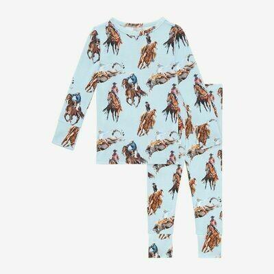 Posh Peanut Long Sleeve Basic Pajama Set - Brody