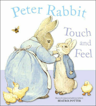 """Peter Rabbit Touch and Feel"" Book"
