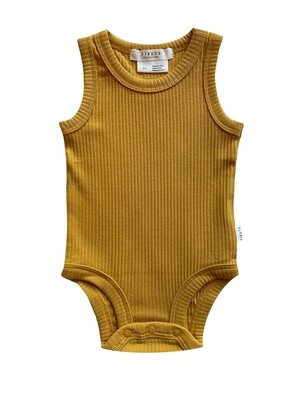 Firsts by Petit Lem Onesie - Yellow Sunshine