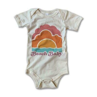 "Rivet Apparel Co. ""Beach Baby"" Onesie"
