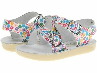 'Sea Wees' Salt Water Sandals - Floral
