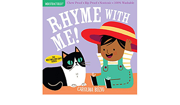 "Indestructibles Book ""Rhyme with Me!"""