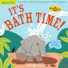 """Indestructibles Book """"It's Bath Time!"""""""