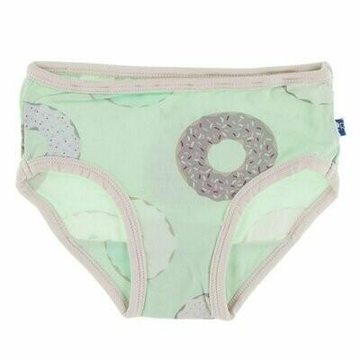 Kickee Pants Print Underwear - Pistachio Donuts
