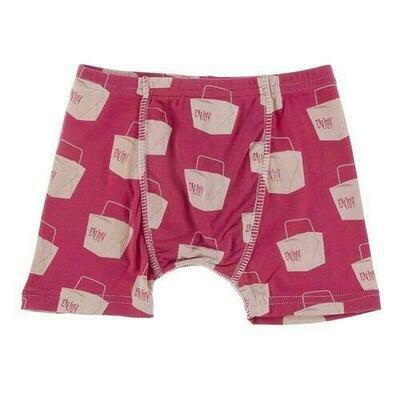 Kickee Pants Boxer Briefs - Cherry Pie Takeout