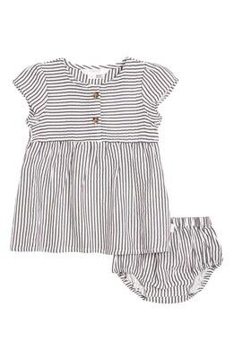 Firsts by Petit Lem - Stripe Seersucker Dress Set
