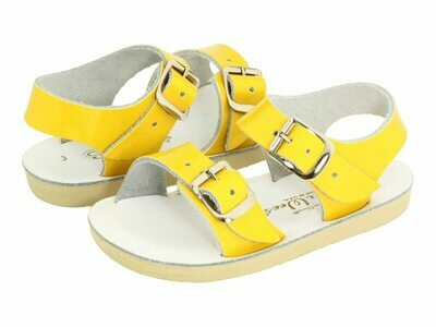 'Sea Wees' Salt Water Sandals - Shiny Yellow