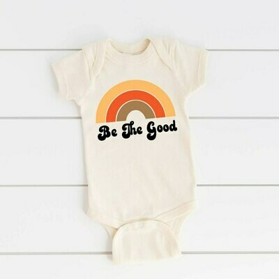 """""""Be The Good"""" Onesie - Natural"""