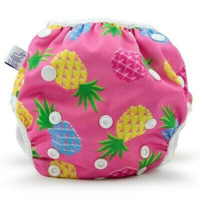 Beau & Belle Reusable Swim Diaper - Pink Pineapples
