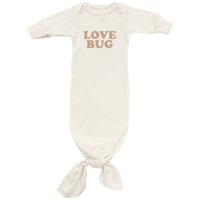 """Tenth & Pine """"Love Bug"""" Gown Gold Font"""