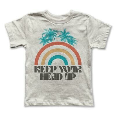 """Rivet Apparel Co. """"Keep Your Head Up"""" Graphic Tee"""