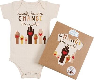 "Morado Designs ""Small Hands"" Onesie"