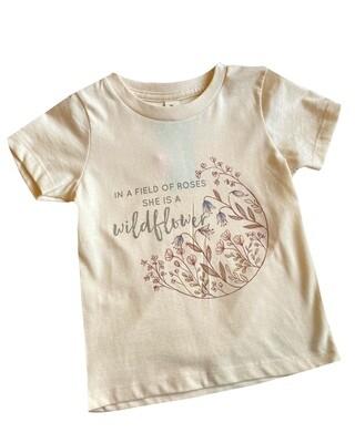 "Morado Designs ""She is a Wildflower..."" Graphic Tee"