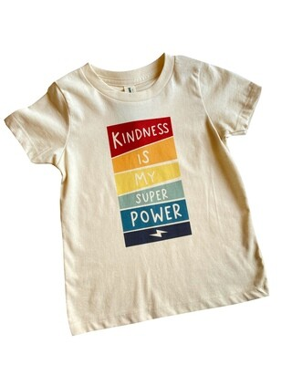 """Morado Designs """"Kindness is My Superpower"""" Graphic Tee"""