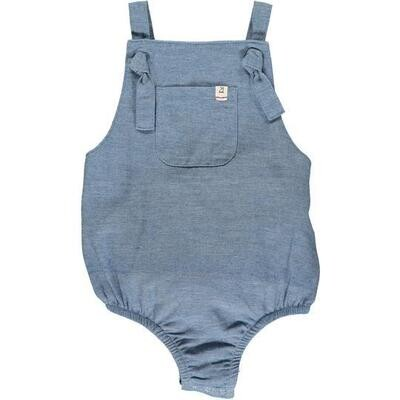 Me & Henry Chambray Bubble Romper