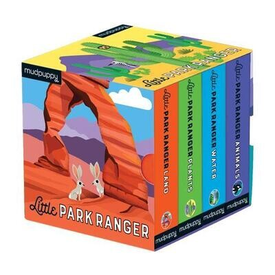"Mudpuppy ""Little Park Ranger"" Board Book Set"