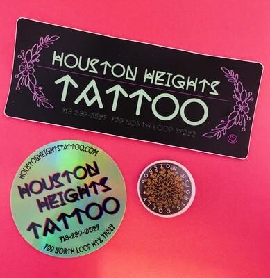 Sticker & Button Combo