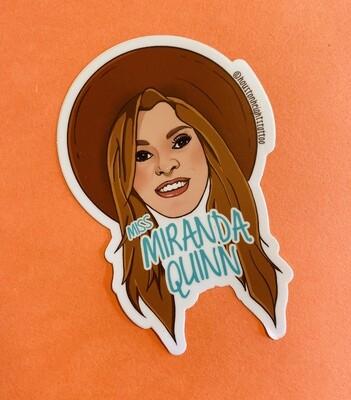 Miss Miranda Quinn 2'x3'