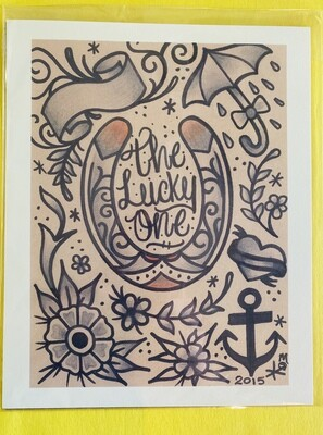 THE LUCKY ONE 8X10