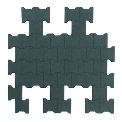 Van Dyck Rubber Interlocking I-Mat