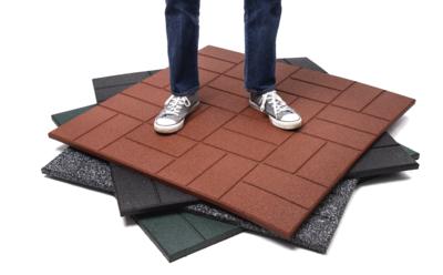 Van Dyck Premium Rubber Tile 100cm x 100cm