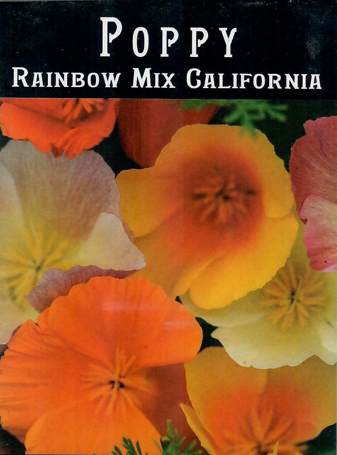Poppy - California Rainbow Mix BC