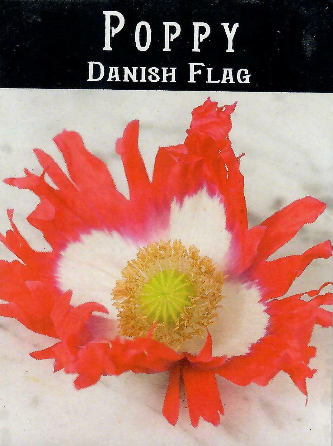 Poppy - Danish Flag BC