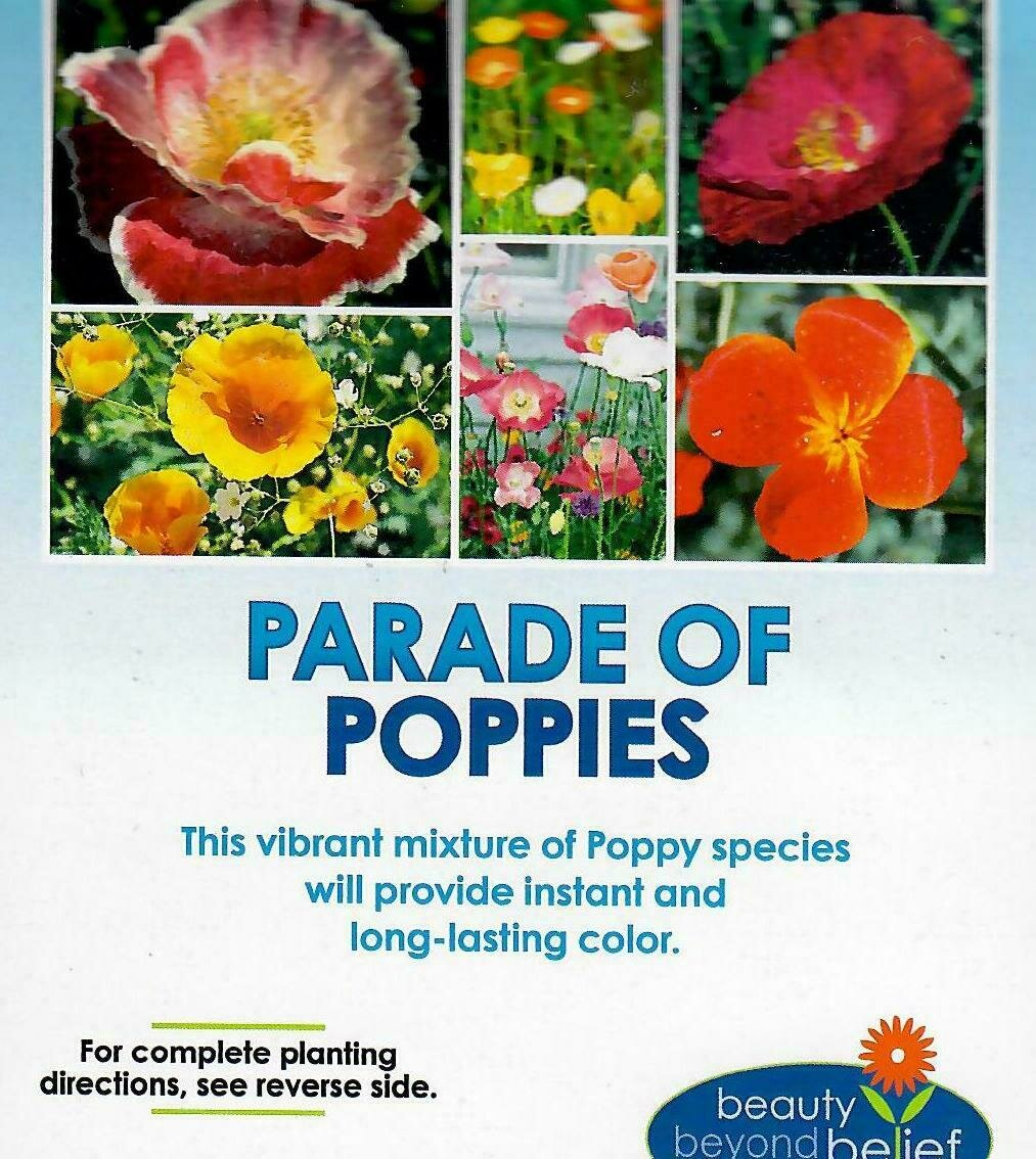 Parade of Poppies Wildflower Mix 4oz