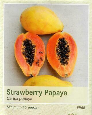 Strawberry Papaya Seed