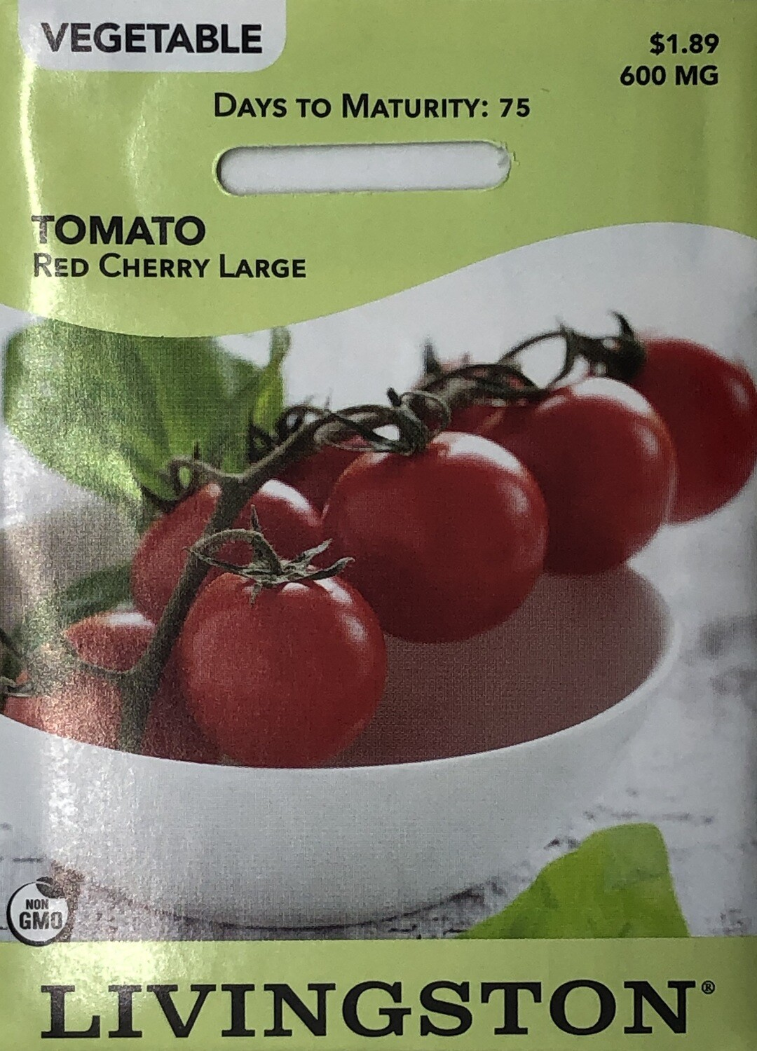TOMATO - RED CHERRY LARGE