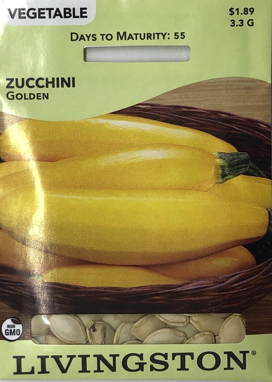 SQUASH - ZUCCHINI - GOLDEN