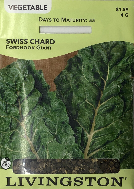 SWISS CHARD - FORDHOOK GIANT