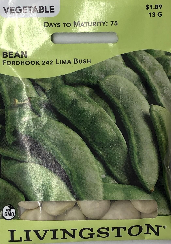 BEAN - FORDHOOK 242 - BUSH LIMA