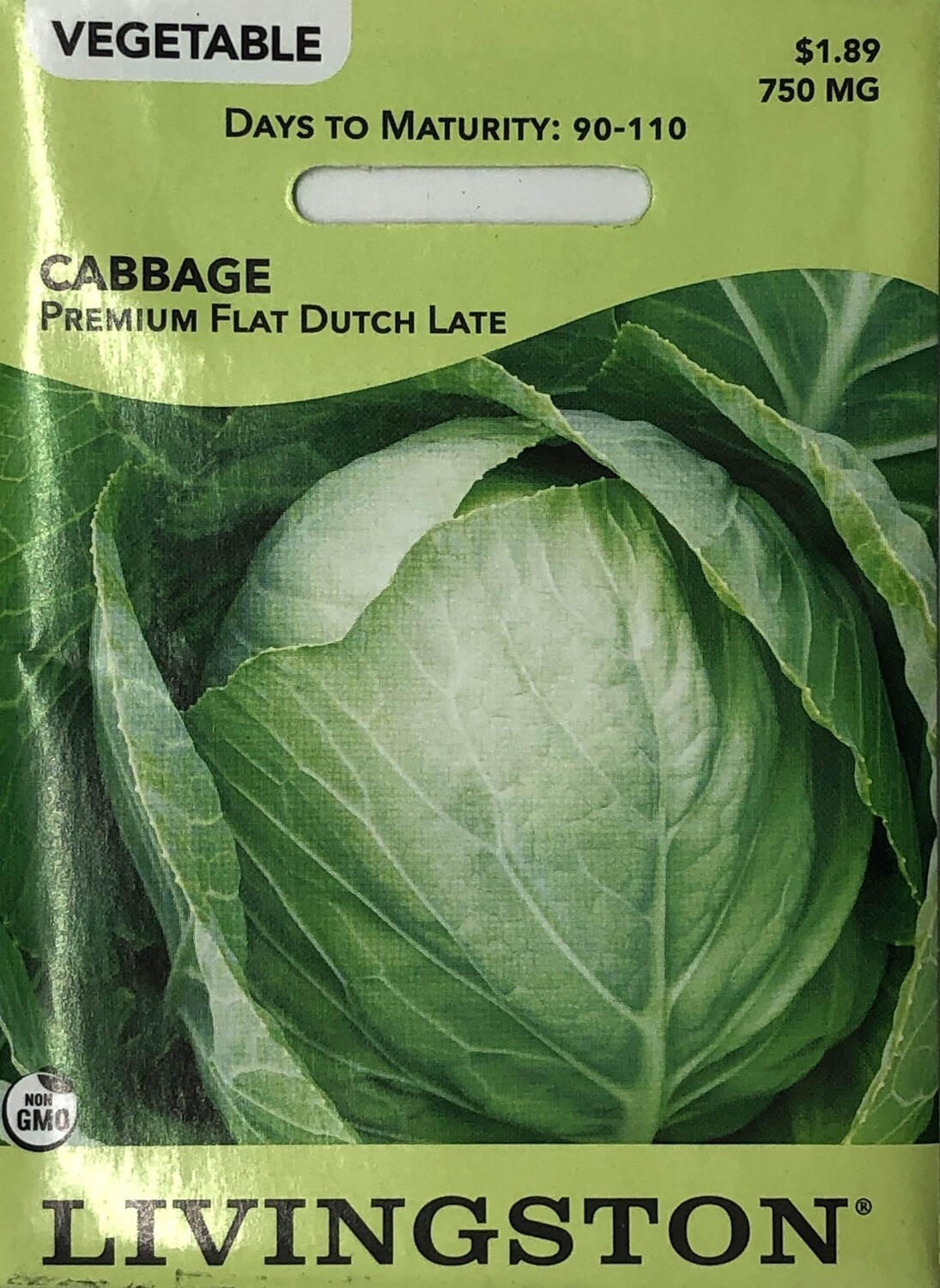 CABBAGE - PREMIUM FLAT DUTCH LATE