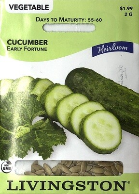 CUCUMBER - HEIRLOOM - EARLY FORTUNE